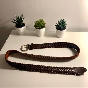"""Accessories - 42"""" brown leather belt"""